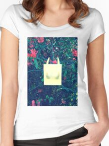 Osseous Blossoms Women's Fitted Scoop T-Shirt