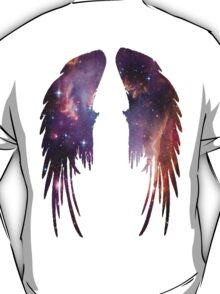 Angel Pink Galaxy Wings T-Shirt