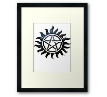 Supernatural Galaxy  Framed Print