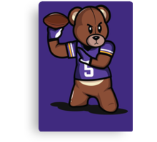 VICTRS - Teddy Football™ Canvas Print