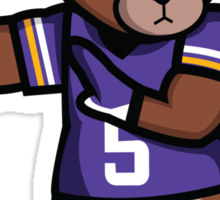 VICTRS - Teddy Football™ Sticker