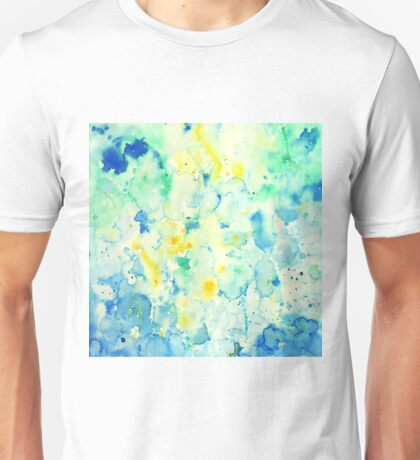 Watercolor abstract landscape Painting Unisex T-Shirt