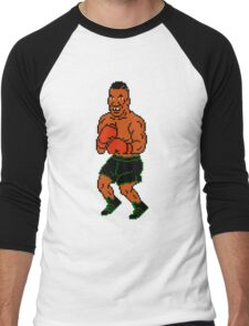 Mike Tyson sprite - Punch Out! Men's Baseball ¾ T-Shirt