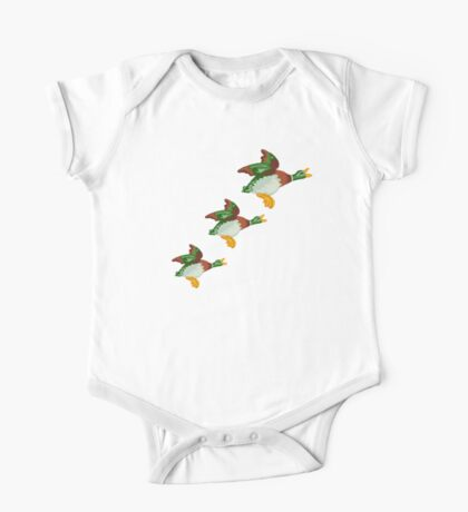 HOME SWEET HOME 2 - THREE FLYING DUCKS One Piece - Short Sleeve