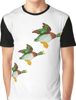 HOME SWEET HOME 2 - THREE FLYING DUCKS Graphic T-Shirt