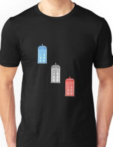 Union Jack Tardis Unisex T-Shirt