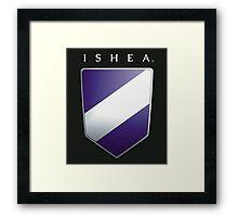 Ishean Coat of Arms Framed Print