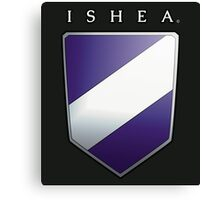 Ishean Coat of Arms Canvas Print