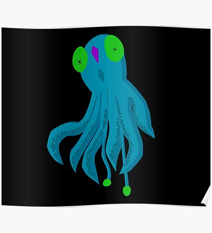 To Be A Squid Poster