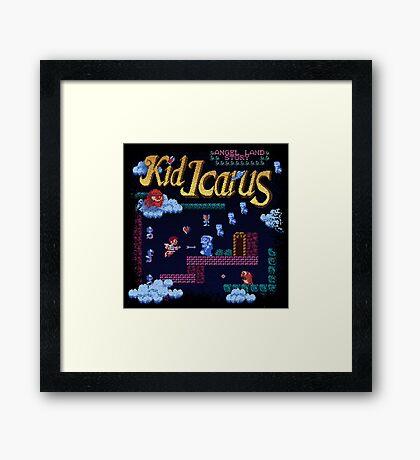 Icarus Kid Framed Print