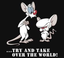 Pinky And The Brain - Try And Take Over The World by Voivod