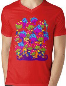 Indie Mushrooms Mens V-Neck T-Shirt