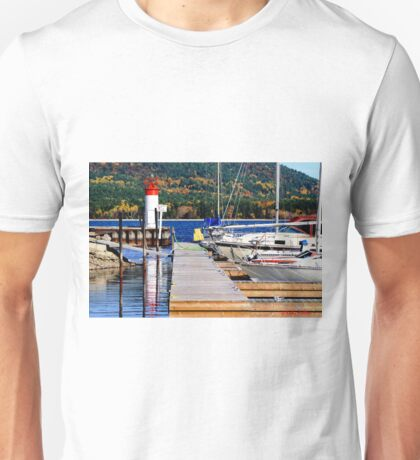 Fall lighthouse Unisex T-Shirt