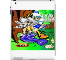 Kid Soldier-Yula bee relaxing & Reading Geography Studies iPad Case/Skin