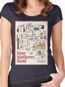 Dave Matthews Band, Tour 2016, The Gorge Amphitheatre George WA Women's Fitted Scoop T-Shirt