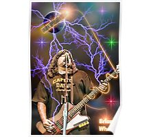 Brian Wheat of Tesla Poster