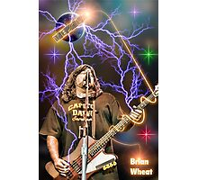 Brian Wheat of Tesla Photographic Print
