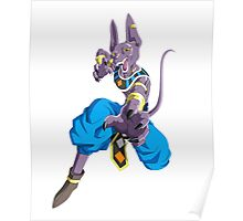 God of Destruction: Beerus Poster
