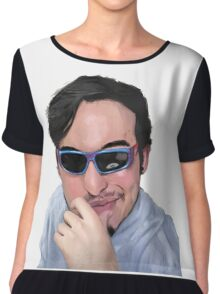 Filthy Frank Doodle Chiffon Top