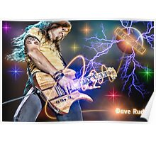 Dave Rude of Tesla Poster