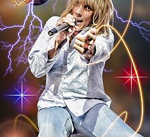 Jeff Keith of Tesla by randymir