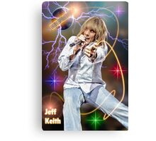 Jeff Keith of Tesla Canvas Print