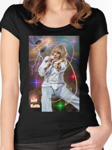Jeff Keith of Tesla Women's Fitted Scoop T-Shirt
