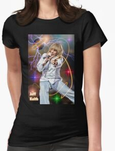 Jeff Keith of Tesla Womens Fitted T-Shirt