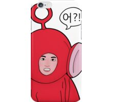 Angry Teletubby  iPhone Case/Skin