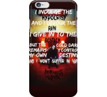 Motionless In White - Death March iPhone Case/Skin