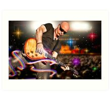 Jimmy Stafford of Train Art Print