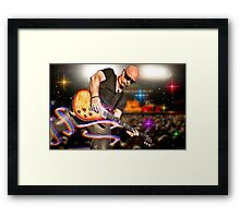 Jimmy Stafford of Train Framed Print