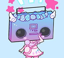 Stereo Head by Jelly Gem