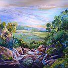 From Cameron Falls Knoll road Tamborine Mountain,Qld. by Virginia McGowan