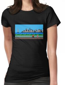 Training Cutscene (sprites) - Punch Out! Womens Fitted T-Shirt