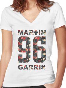 martin garrix Women's Fitted V-Neck T-Shirt