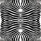 Zebra Skin Animal Print by Edward Fielding