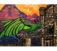 King Jayse and the Dragon  Photographic Print