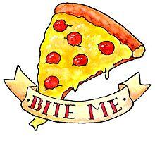 BITE ME pizza by Bantambb