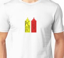 Pc Mustard Race Unisex T-Shirt