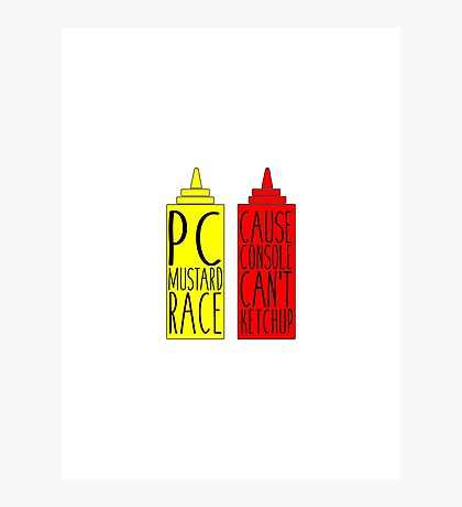 Pc Mustard Race Photographic Print