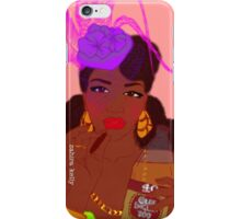 40s and Fascinator Hats iPhone Case/Skin