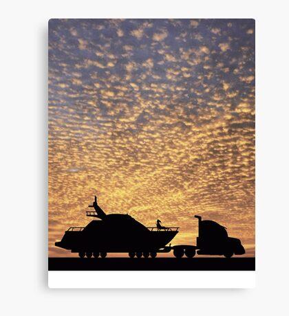Escape from LA Canvas Print