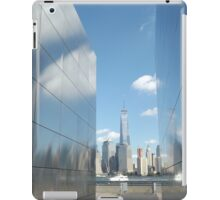 "9/11 Memorial, ""Empty Sky"", New World Trade Center, Liberty State Park, Jersey City  iPad Case/Skin"