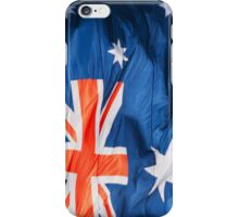 Waving Flag of Australia iPhone Case/Skin