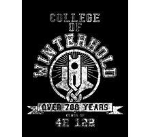 Skyrim - College Of Winterhold - College Jersey Photographic Print