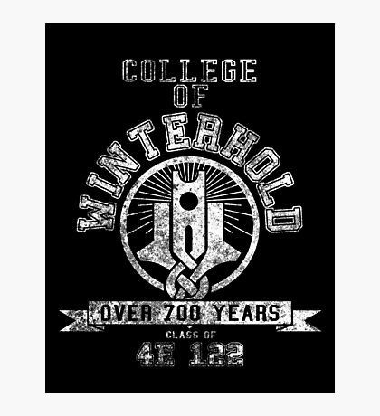 Skyrim - College Of Winterhold - College Jersey Photographic Print