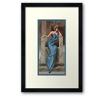 Silver Screen Queen Framed Print