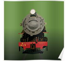 WAGR V Class Locomotive Poster