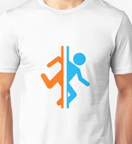 Portal silhouette Unisex T-Shirt